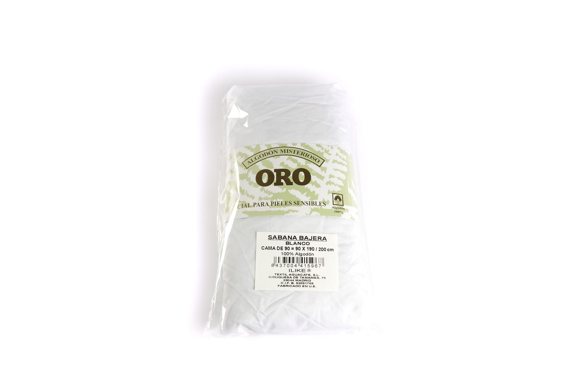 Sabana bajera 100 alg blanca cama de 90 90x190 200 - Camas de 90 blancas ...